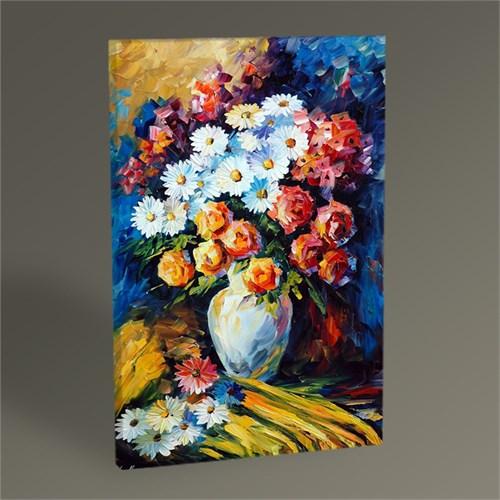 Tablo 360 Vazoda Çiçekler Tablo 105X70