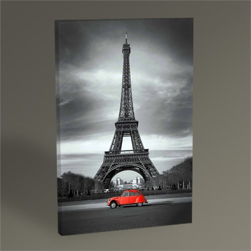 Tablo 360 Paris Red Car Tablo 45X30