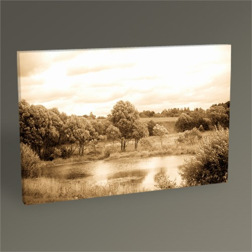 Tablo 360 Tone Antique Landscape Tablo 45X30