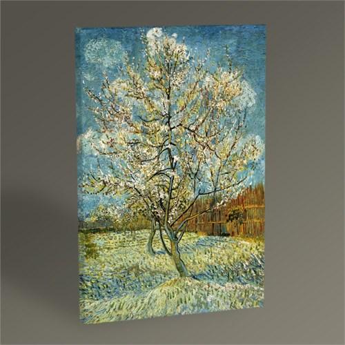 Tablo 360 Vincent Van Gogh Şeftali Ağacı Tablo 45X30