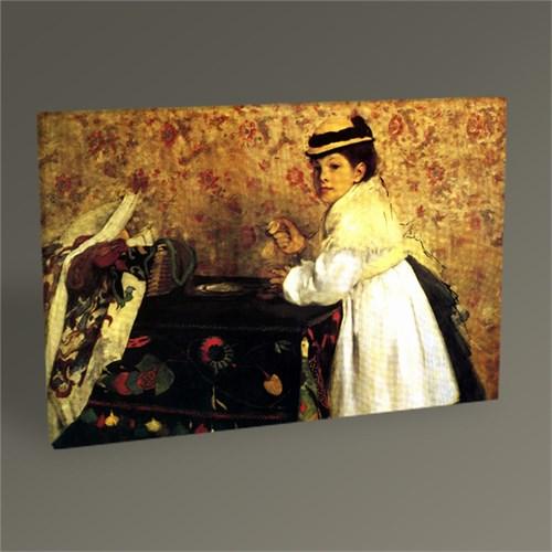 Tablo 360 Edgar Degas Hortense Valpinçon Tablo 45X30