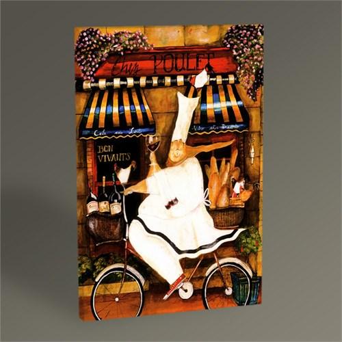 Tablo 360 Chef İn Paris Tablo 45X30