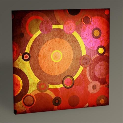 Tablo 360 Retro Circles Tablo 30X30