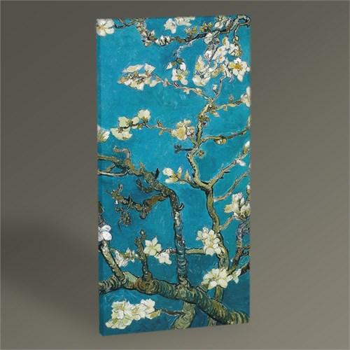 Tablo 360 Vincent Van Gogh-Badem Dalları Tablo 60X30