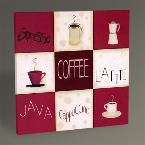 Tablo 360 Coffee Nine Patch Tablo 30X30
