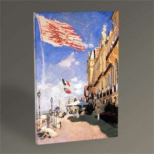 Tablo 360 Claude Monet Roches Noires Oteli Tablo 45X30