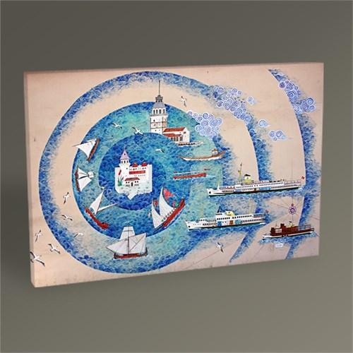 Tablo 360 İstanbul Minyatür Tablo 45X30