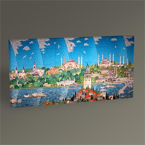 Tablo 360 İstanbul Tarihi Yarımada Minyatür 60X30