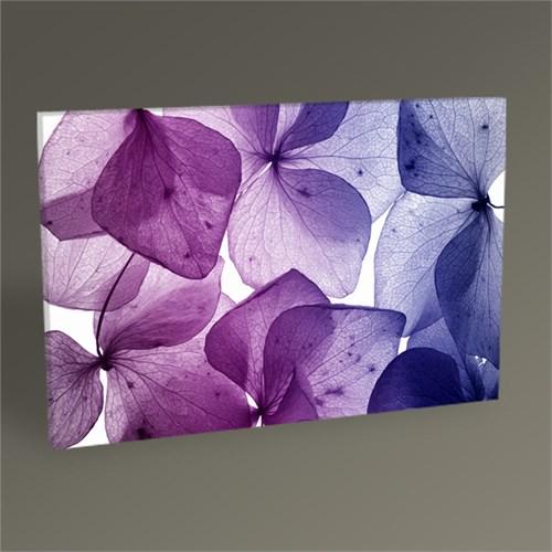 Tablo 360 Mor Renkli Çiçekler Tablo 45X30