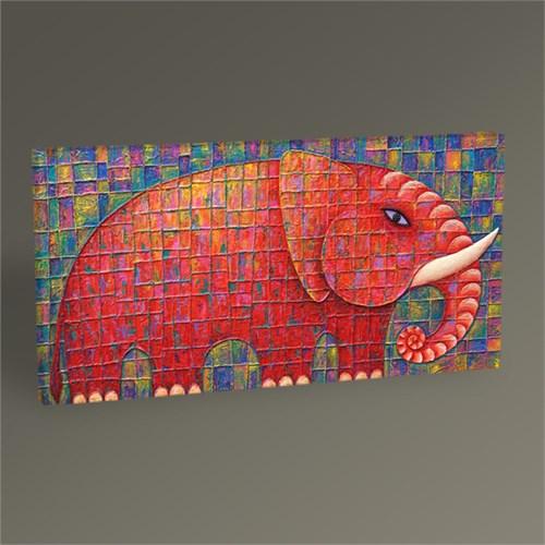 Tablo 360 Kırmızı Fil Tablo 60X30