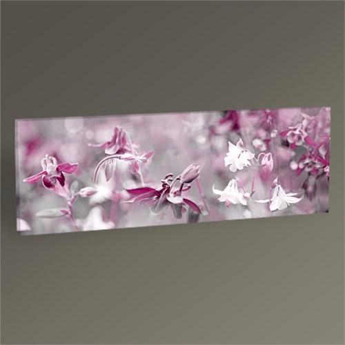 Tablo 360 Pastel Tonlu Çiçekler 60X20