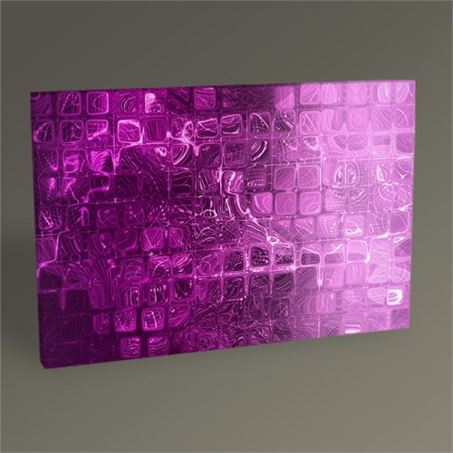Tablo 360 Mor Renkli Soyut Tablo 45X30