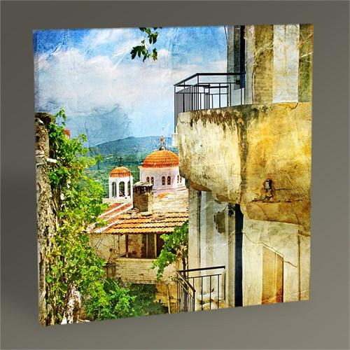 Tablo 360 Yunanistan Sokakları Tablo 30X30