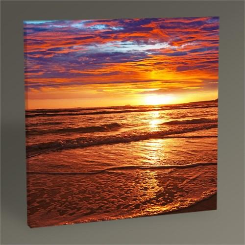 Tablo 360 Denizde Gün Batımı Tablo 30X30