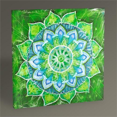 Tablo 360 Yeşil Mandala Tablo 30X30
