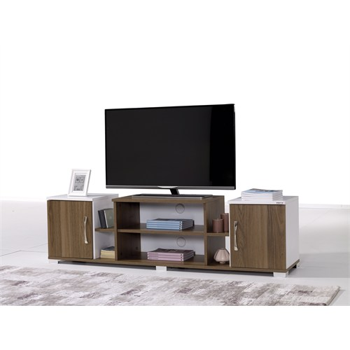 Alpino Zeus Tv Sehpası - Beyaz/Venezia