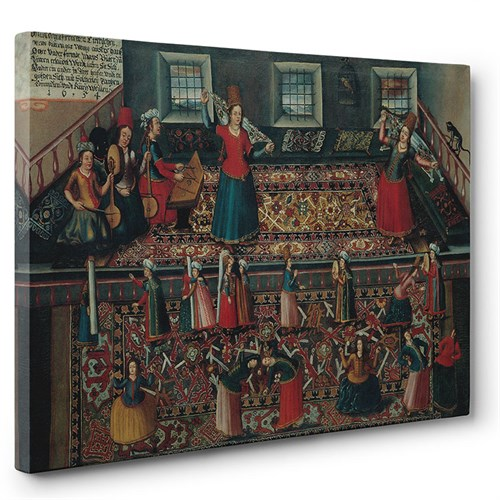 Tabloshop - Franz Hermann - Ottoman Harem Tablosu