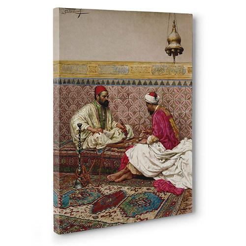 Tabloshop - Osmanlıda Tavla Oynayanlar Tablosu