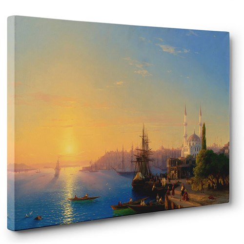 Tabloshop - Konstantinopolis'in Görünümü Tablosu
