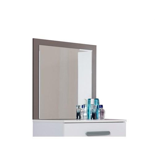 Alpino Tual Yatak Odası Şifonyer Aynası Beyaz - Granit