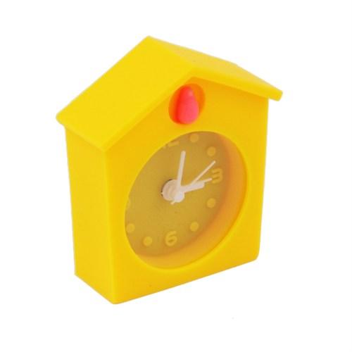 Guguk Kuşu Silikon Saat Sarı