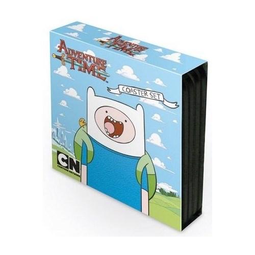 Pyramid International Bardak Altlığı 4'Lü Set - Adventure Time