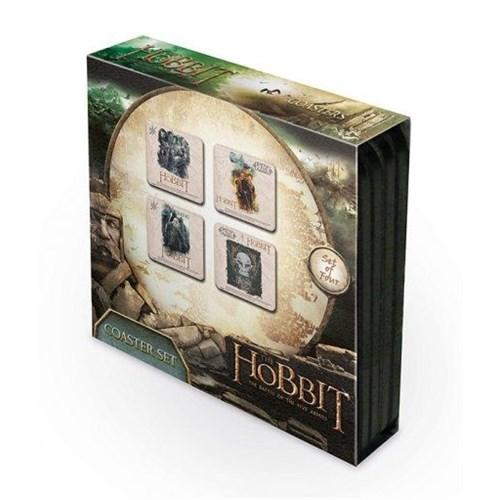 Pyramid International Bardak Altlığı 4'Lü Set - The Hobbit