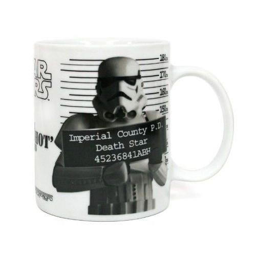 Sd Toys Star Wars Stormtropper Police Record Seramik Kupa Bardak