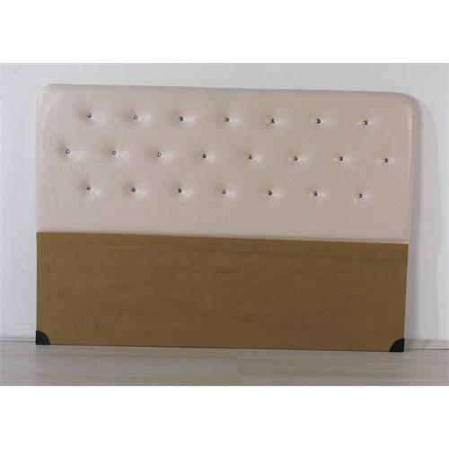 Nav Decoration Sıla Çift Kişilik Baza Başlığı - Beyaz - 150X200