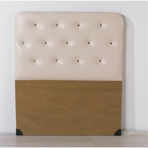 Nav Decoration Sıla Tek Kişilik Baza Başlığı - Beyaz - 90X190 Cm