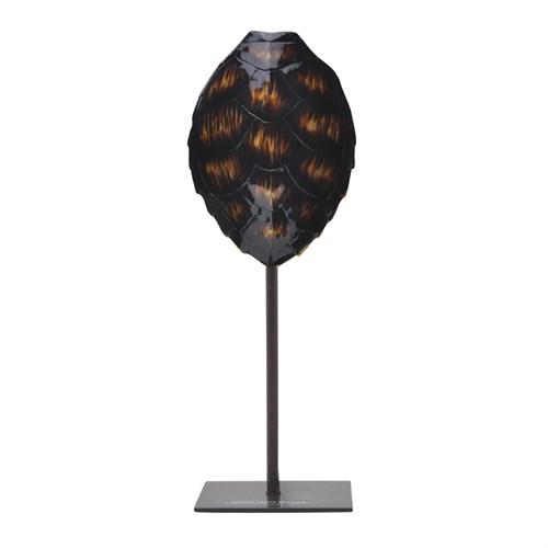 Yargıcı Dekoratif Kaplumbağa Kabuğu ( 16 X 10 X 42 Cm )