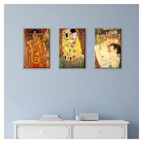Tablo 360 Gustav Klimt Set Tablo