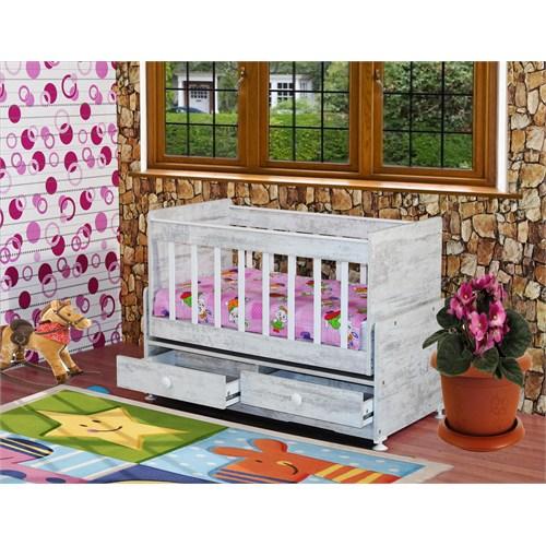 Banana Baby&Kids Besoko 2 Çekmeceli Beşik Kristal