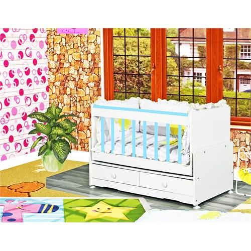 Banana Baby&Kids Besoko 2 Çekmeceli Beşik Mavi