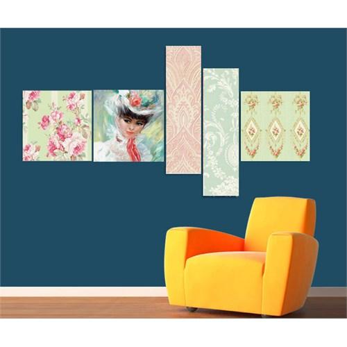 Artred Gallery 5 Parçalı Dream Kanvas 180X75 Tablo-2