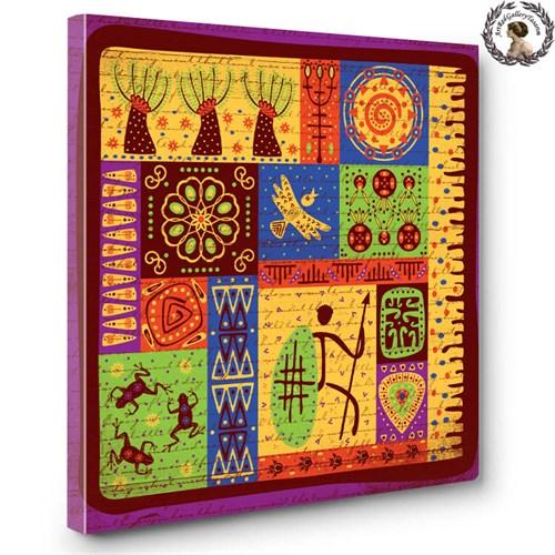 Artred Gallery Afrika Serisi Kanvas Tablo-3 60X60