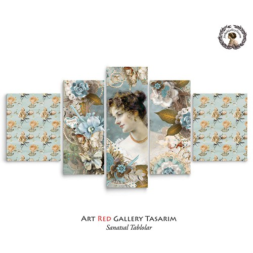 Artred Gallery Valentina Serisi 125X56Kanvas Tablo-10