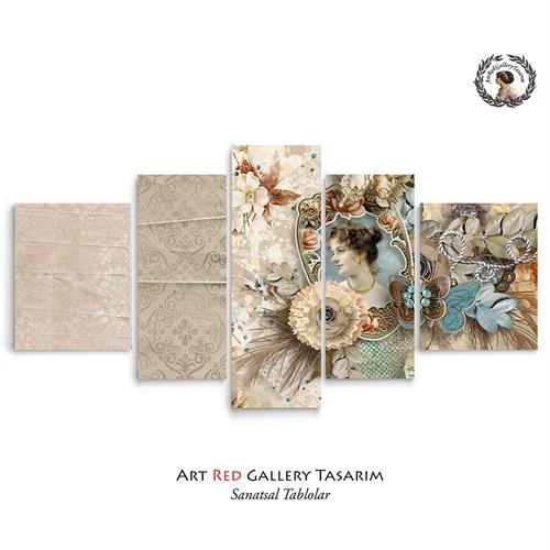 Artred Gallery Valentina Serisi125x56 Kanvas Tablo-12