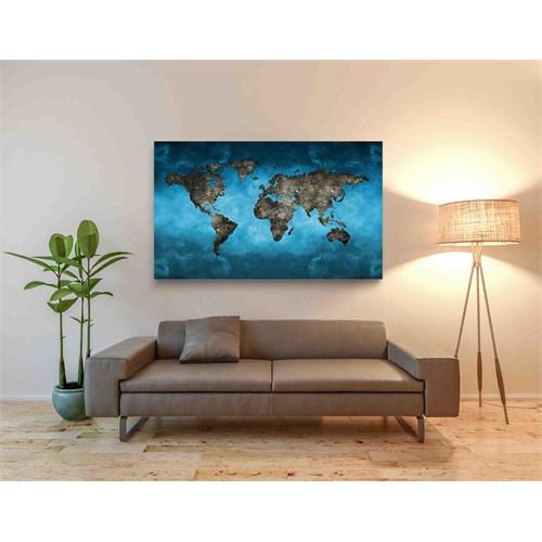 Artred Gallery 30X40 World Tablo
