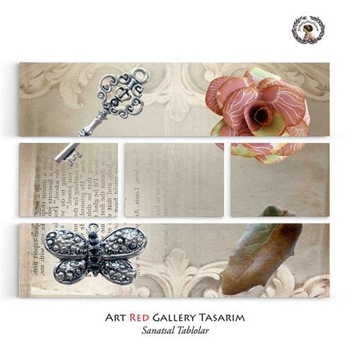 Artred Gallery Beş Parça Anahtar Yaprak Tablo126X95