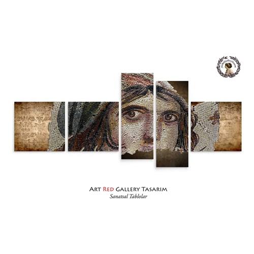 Artred Gallery Beş Parça Zeugma Tablo 180X75