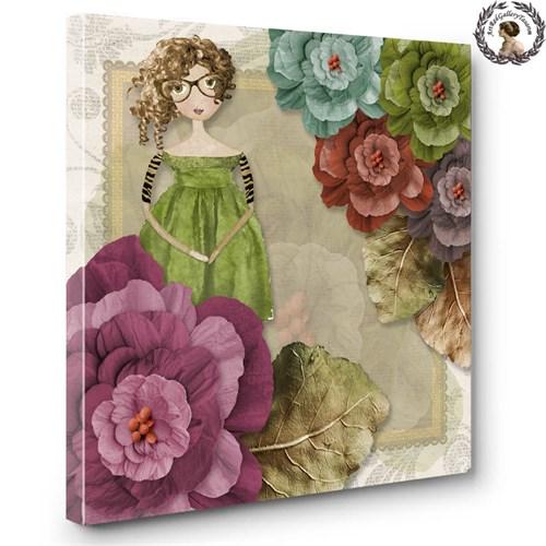 Artred Gallery Kağıt Objeler Serisi Canvas 3 Tablo60X60