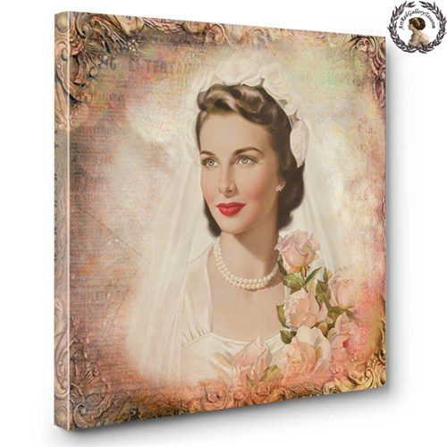 Artred Gallery Lady Serisi Canvas Tablo 3260X60