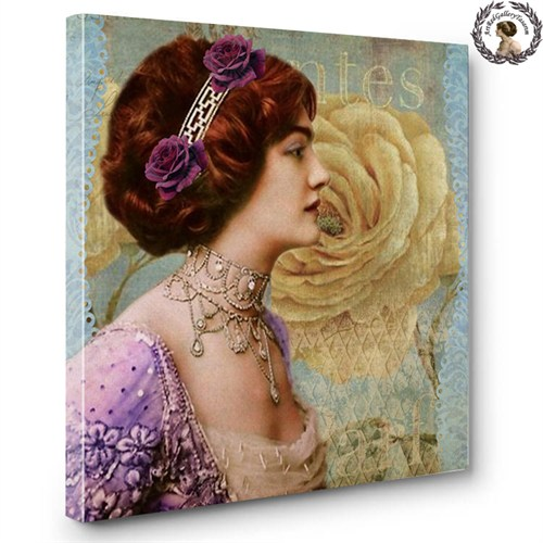 Artred Gallery Lady Serisi Canvas Tablo-3 60X60