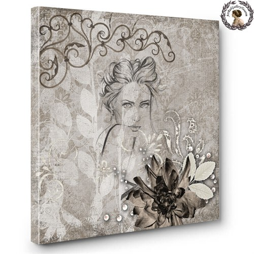 Artred Gallery Objeler Serisi Canvas Tablo60X60