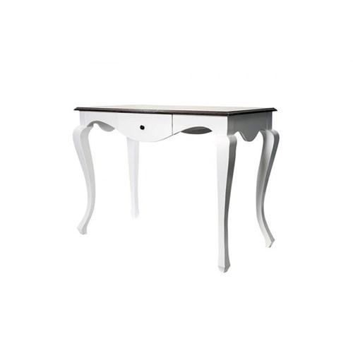 Woodenbend Side Ceviz-Beyaz Çalışma Masası