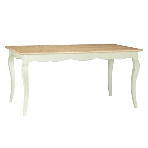 Woodenbend Elio Krem Yemek Masası