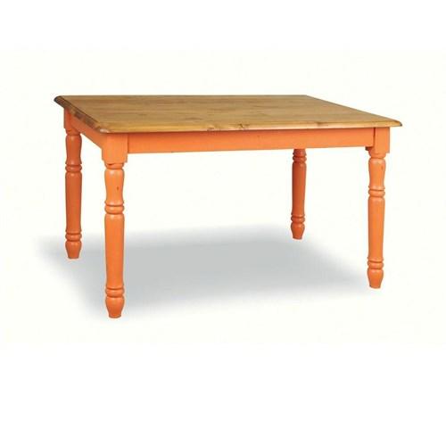 Woodenbend Tiffany Kremit Eskitilmiş Masa