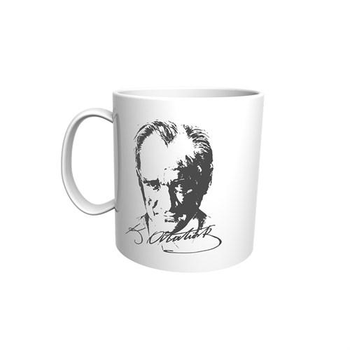 Atatürk Görselli Kupa Bardak