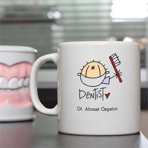 Dişçinize Özel Kupa